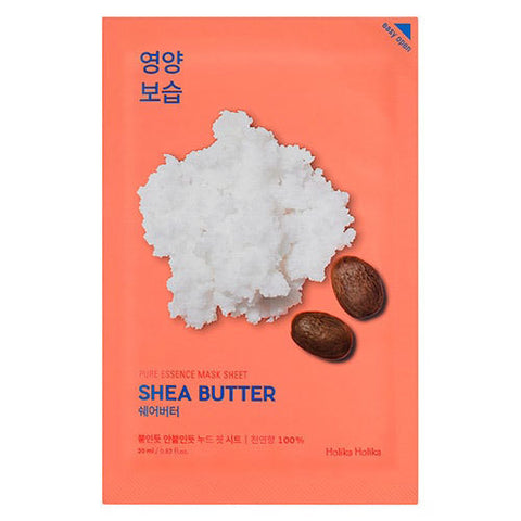 [Holika Holika] Pure Essence Mask Sheet Shea Butter