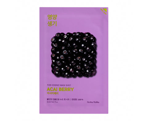 [Holika Holika] Pure Essence Mask Sheet - Acai Berry