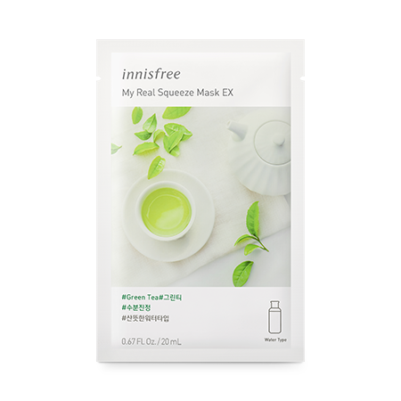 [Innisfree] My Real Squeeze Mask EX [Green Tea]