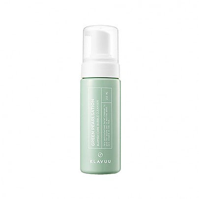 [Klavuu] Green Pearlsation Blemish Care Bubble Cleanser