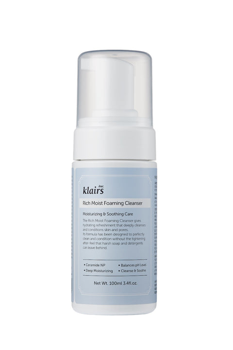 [dear Klairs] Rich Moist Foaming Cleanser