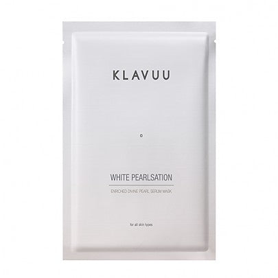 [Klavuu] White Pearlsation Enriched Divine Pearl Serum Mask 1ea