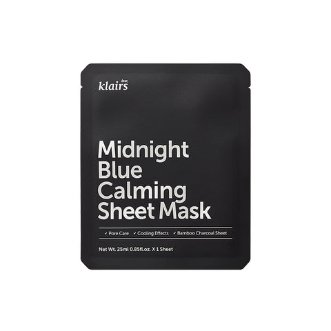 [dear Klairs] Midnight Blue Calming Sheet Mask