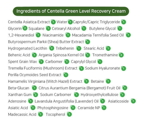 [Purito] Centella Green Level Recovery Cream