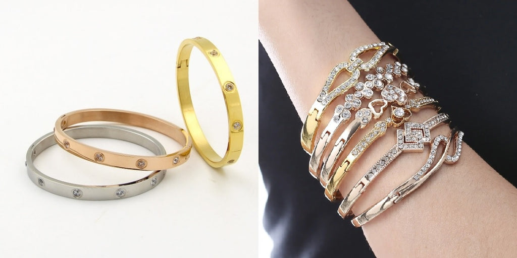 Bangles and bangle bracelets for women