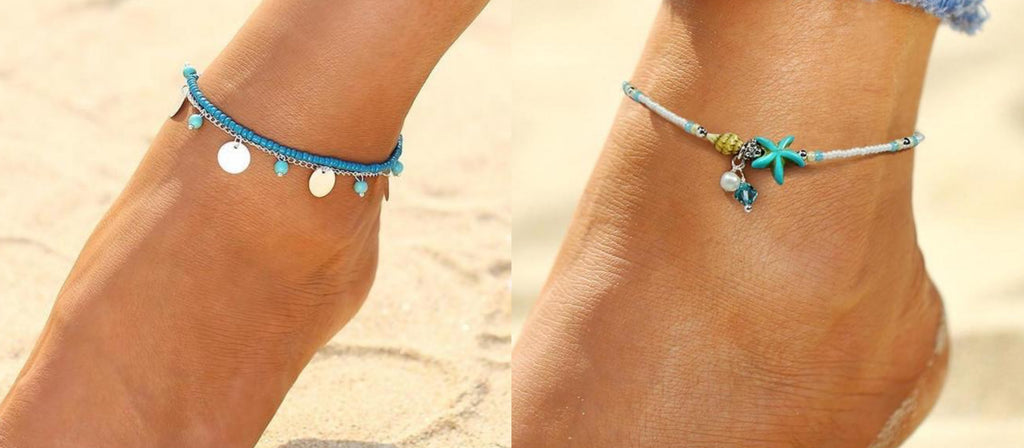 Beaded Anklets By Classy Women Collection