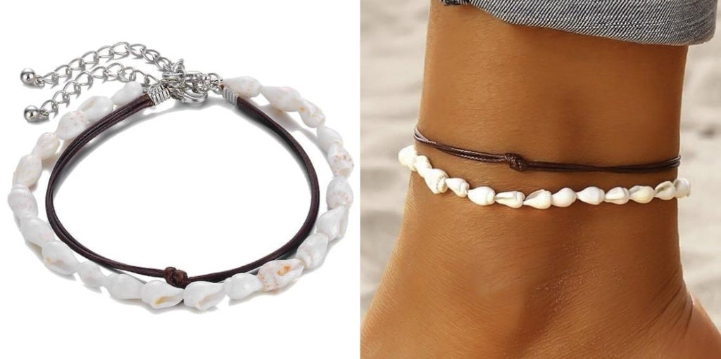 Conch Shell Anklet