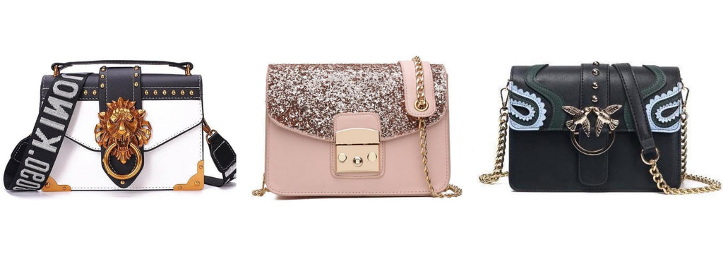 Detailed Crossbody Bags by Classy Women Collection