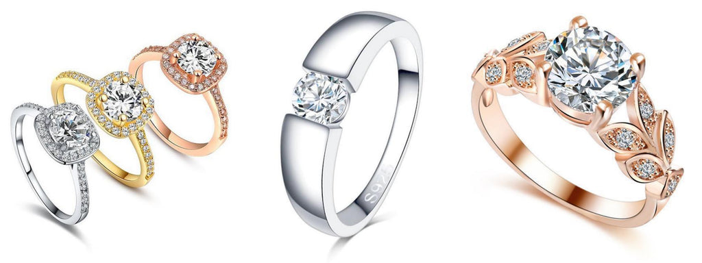 Affordable Luxury Rings by Classy Women Collection