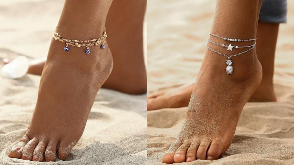 Layered Anklets