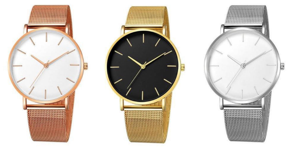 Simple Minimalistic Watches For Women