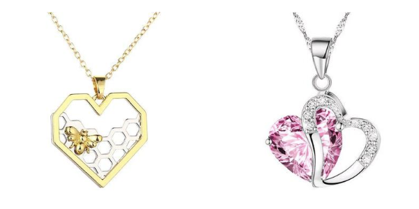 Women's Cute Heart Necklaces