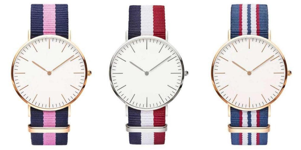 Nylon Strap Watches By CWC