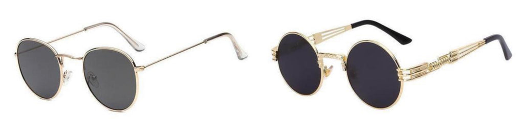 Round Retro Sunglasses By Classy Women Collection