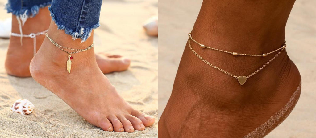 Simple Anklets By Classy Women Collection