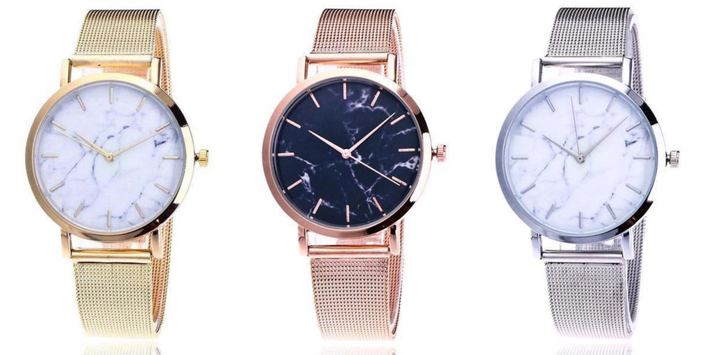Simple Marble Watches For Women