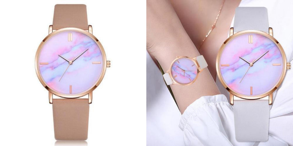 Space Marble Watch For Women
