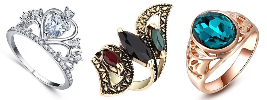 Statement Rings by Classy Women Collection