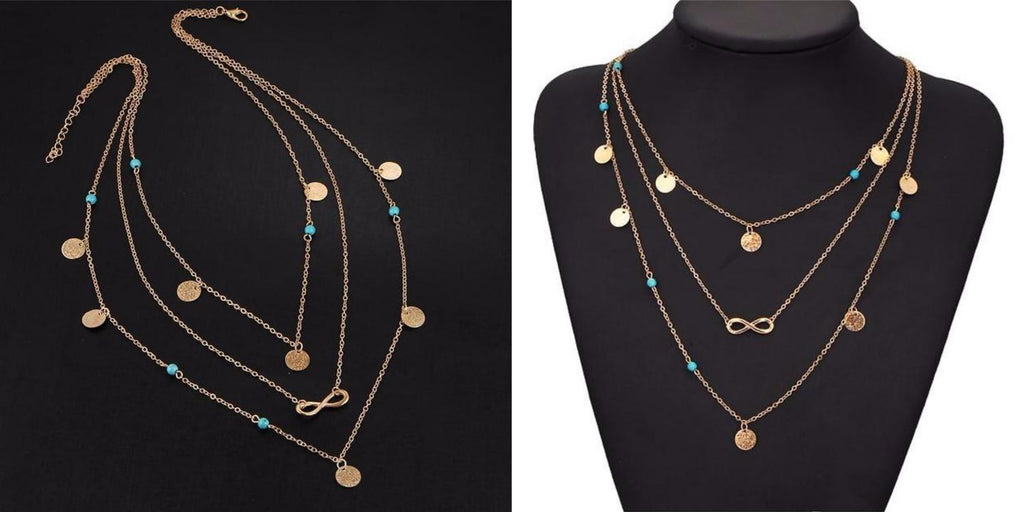 Trendy Layered Necklace For Women