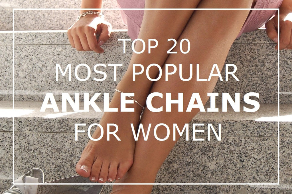 Most popular ankle chains