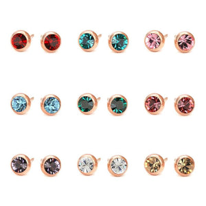 Classy Women Stud Earrings - 10 Colors - Classy Women Collection