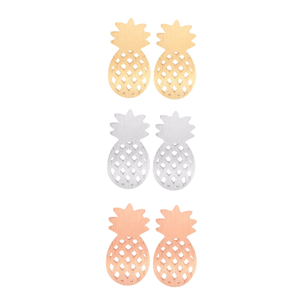 Classy Women Pineapple Earrings | Earrings - Classy Women Collection