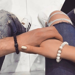 King's and Queen's couples bracelets