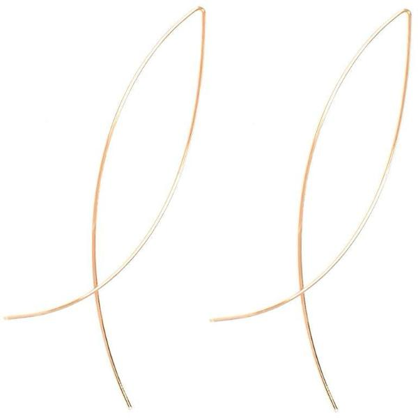 Classy Women Delicate Wire Earring - 2 Colors - Classy Women Collection