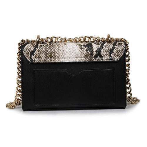 Classy Women Snakeskin Crossbody Bag - 3 Colors | Handbag - Classy Women Collection