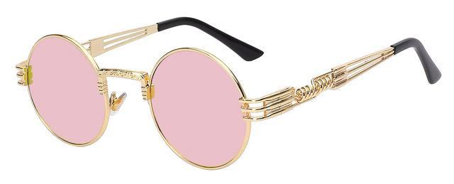 Classy Women Round Pink Sunglasses | sunglasses - Classy Women Collection