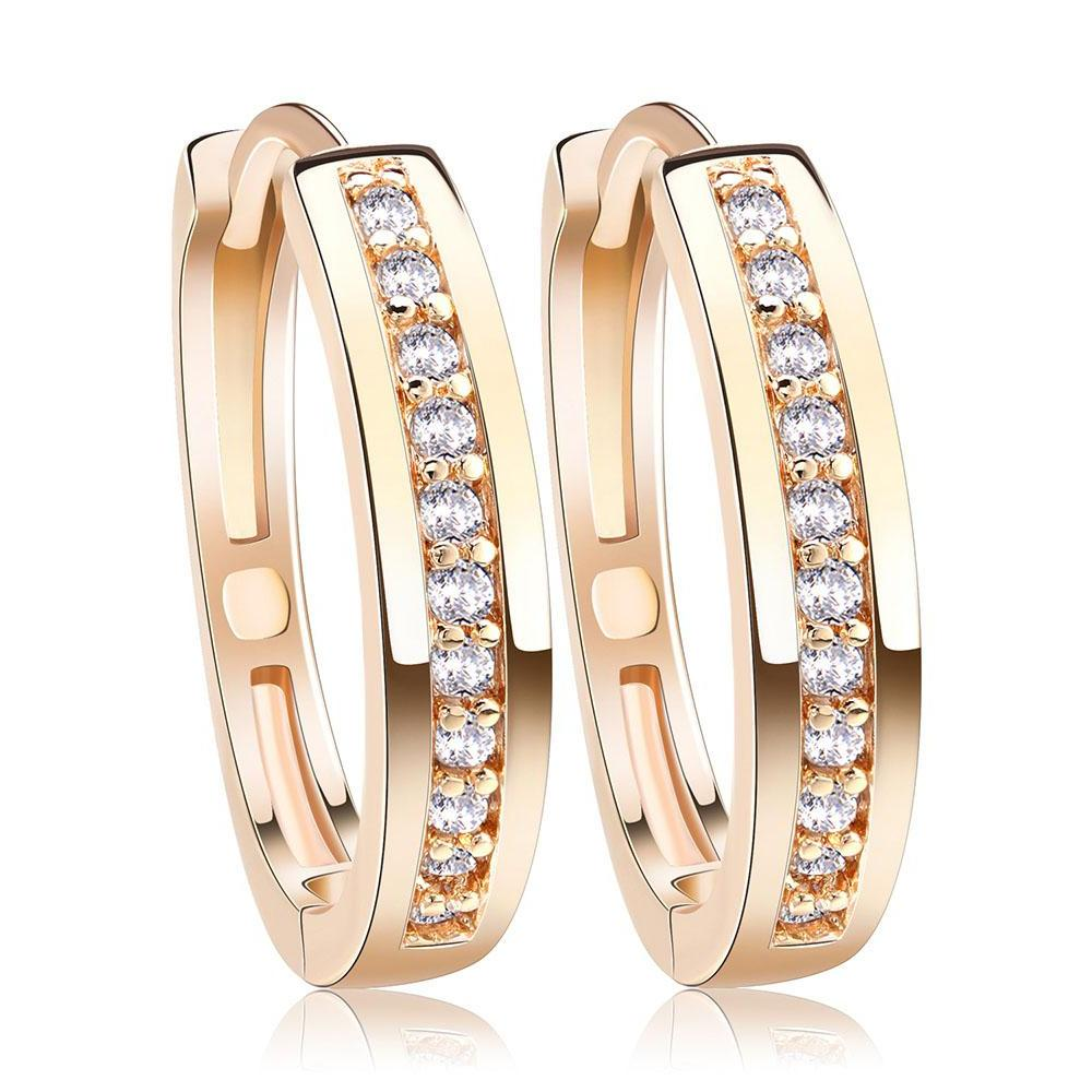 Classy Women Small Hoop Earrings - Classy Women Collection