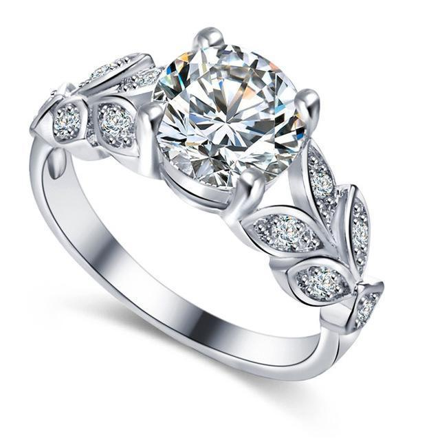 Classy Women Luxe Flower Ring - Classy Women Collection