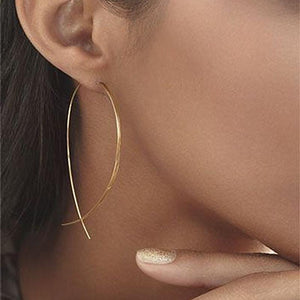 Classy Women Delicate Wire Earrings - 2 Colors | Earrings - Classy Women Collection