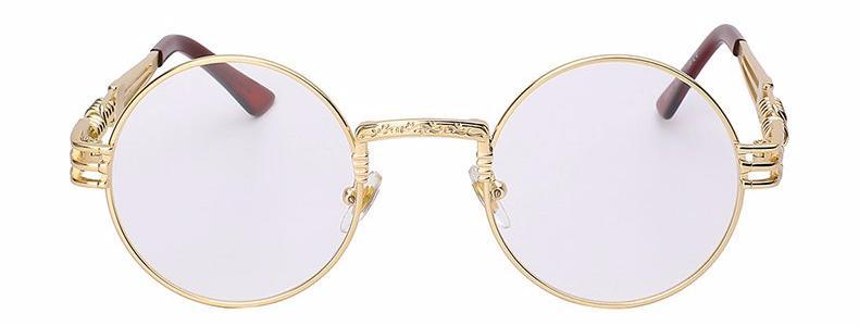 Classy Women Round Clear Sunglasses | sunglasses - Classy Women Collection
