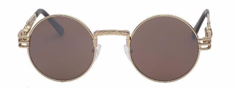 Classy Women Round Brown Sunglasses | sunglasses - Classy Women Collection