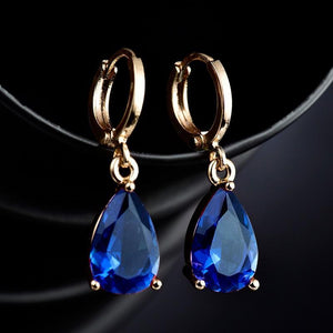 Classy Women Teardrop Earrings - 5 Colors - Classy Women Collection