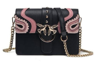 Classy Women Detailed Crossbody Bag - 2 Colors | Handbag - Classy Women Collection
