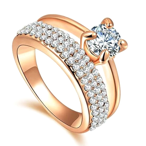 Classy Women Double CZ Ring | Ring - Classy Women Collection