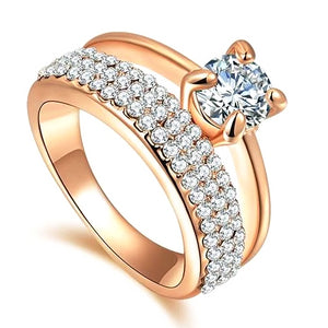 Classy Women Double CZ Ring - Classy Women Collection