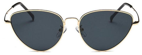 Classy Women 70's Triangle Sunglasses | sunglasses - Classy Women Collection