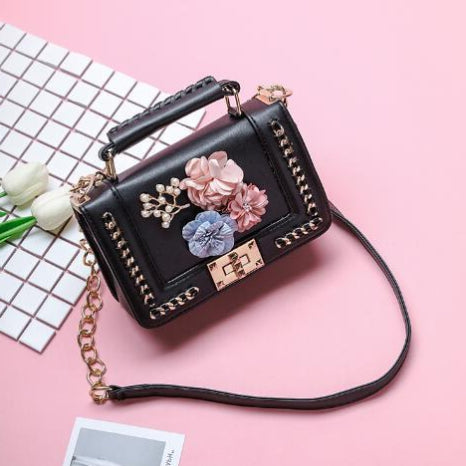 Classy Women Flower Crossbody Bag - 3 Colors | Handbag - Classy Women Collection