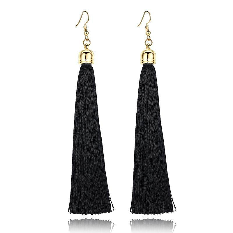 Classy Women Tassel Earrings - 5 Colors | Earrings - Classy Women Collection