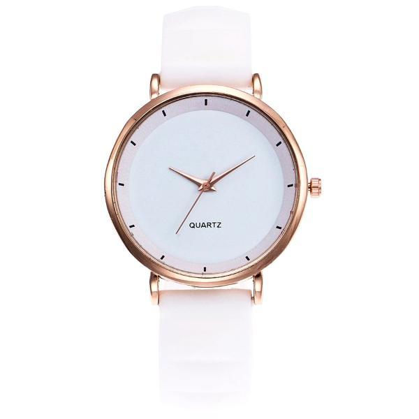 Classy Women Silicone Watch White - Classy Women Collection