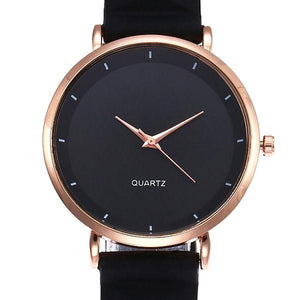 Classy Women Silicone Watch Black | watches - Classy Women Collection