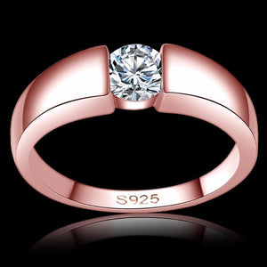 Classy Women 0.5ct Rose Gold Ring - Classy Women Collection