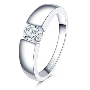 Classy Women 0.5ct 925 Silver Ring | Ring - Classy Women Collection