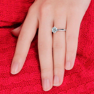 Classy Women 1.3ct 925 Silver Ring | Ring - Classy Women Collection