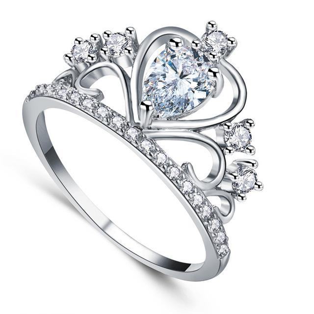 Classy Women Queen's Crown Ring - Classy Women Collection