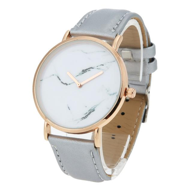 Classy Women Pure Marble Watch Grey - Classy Women Collection