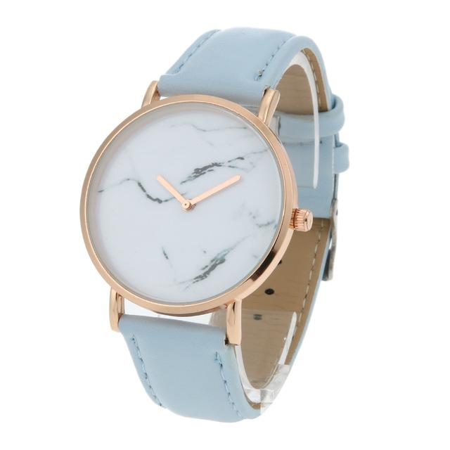 Classy Women Pure Marble Watch Blue - Classy Women Collection
